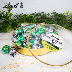Personalized Happy Administrative Professionals Day Gift Tin - Lindor Truffles by Lindt