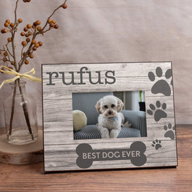 Personalized Picture Frame - Best Dog Ever