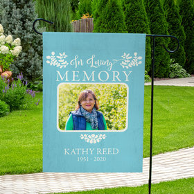 Personalized Remembrance In Memory Of - Garden Flag