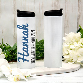 Personalized Name Script Stainless Steel Thermal Tumbler (16oz)