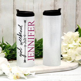 Personalized Arrows Stainless Steel Thermal Tumbler (16oz)