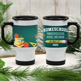 Personalized Stainless Steel Travel Mug (14oz) - Homeschooled