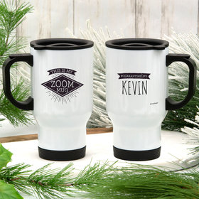 Personalized This is My Zoom Mug Stainless Steel Travel Mug (14oz)