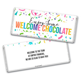 Personalized Work Welcome Chocolate Bar