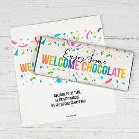 Personalized Chocolate Bar Wrappers Only