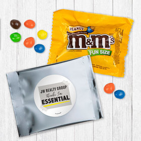 Personalized Business Thinks I'm Essential - Peanut M&Ms