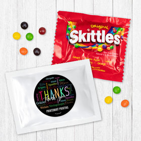 Personalized Business Thanks Languages - Skittles