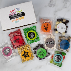 Personalized Appreciation Candy Gift Box - Good Job!