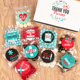 Nurse Appreciation Care Package Candy Gift Box