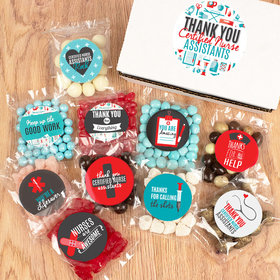 Nurse Assistant Care Package Candy Gift Box