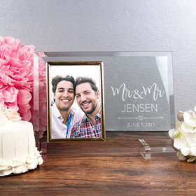 Personalized Picture Frame - Mr. & Mr.
