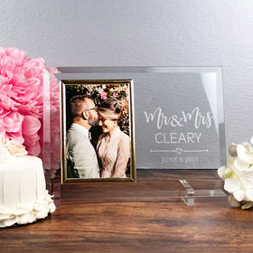 Personalized Picture Frame - Mr. & Mrs.