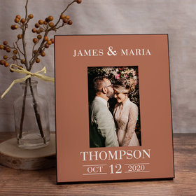 Personalized Picture Frame - Wedding Date