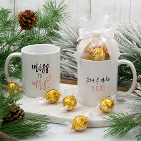 Personalized Miss to Mrs 11oz Mug with Lindt Truffles