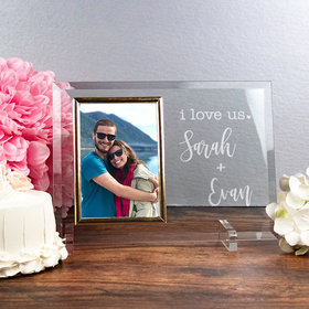 Personalized Picture Frame - I Love Us
