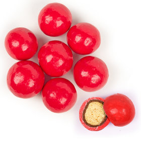 Premium Red Milk Chocolate Malted Milk Balls