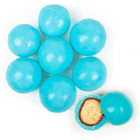 Premium Light Blue Milk Chocolate Malted Milk Balls