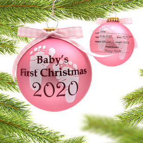 Personalized 2020 Baby's 1st