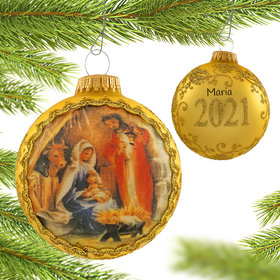Personalized 2021 Dated Masters on Silk (Holy Family)