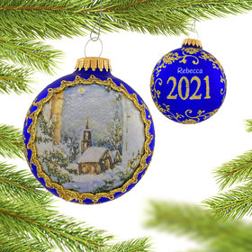 Personalized 2021 Dated Masters on Silk (Night)