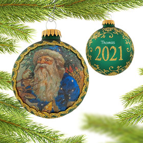 Personalized 2021 Dated Santa on Silk (Sint Niklaes)