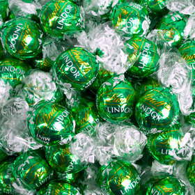 Lindor Green Mint Truffles (1.65lb - Approx 60pcs)