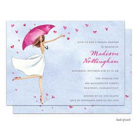 Bonnie Marcus Collection Personalized Bridal Love Reigns Invitation