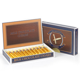 Gold Madelaine Milk Chocolate Cigars