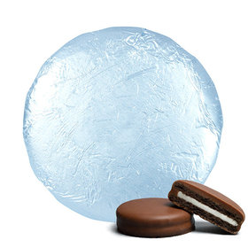 Light Blue Chocolate Covered Oreos (24 Pack)