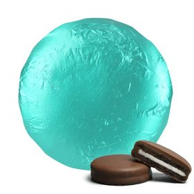 Turquoise Chocolate Covered Oreos (24 Pack)