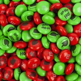 Red & Green Christmas M&Ms Milk Chocolate Candies
