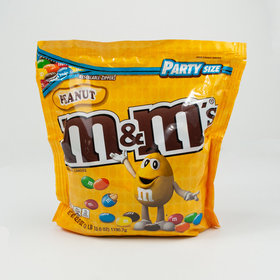 M&M'S Peanut Chocolate Candy Party Size 38-Ounce Bag