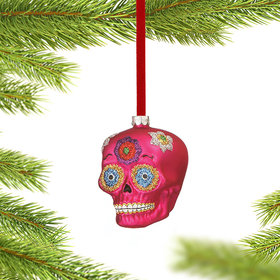 Personalized Day of the Dead Skull (Pink)
