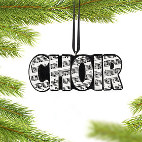 Personalized Choir Word