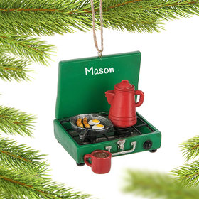 Personalized Camp Stove Ornament