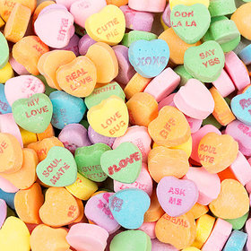 Sweethearts 1lb Re-sealable Stand-Up Bags