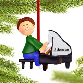 Personalized Piano Player Male