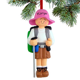 Personalized Hiker Female