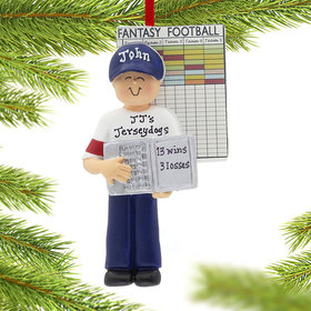 Personalized Fantasy Football Male