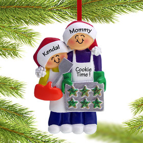 Personalized Baking Cookies with Grandma or Mom (1 Child)