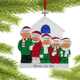 Personalized Church Family of 5