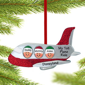 Personalized Airplane Family of 3