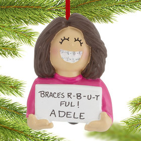 Personalized Braces On Girl