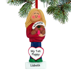 Personalized Dog Lover Girl