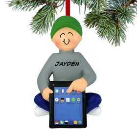 Personalized Boy with Tablet