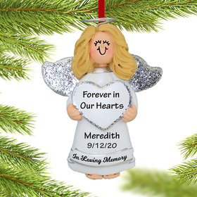 Personalized Memorial Angel