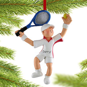 Personalized Tennis Player Boy