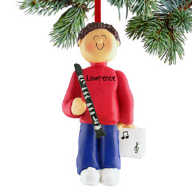Personalized Clarinet Player Male