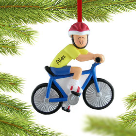 Personalized Bicycle Rider Male