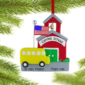 Personalized School with School Bus